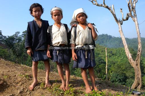 Trio Bocah Baduy Dalam
