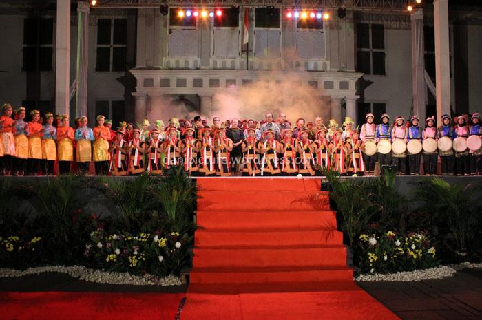 Pembukaan acara SAMAN SUMMIT 2012