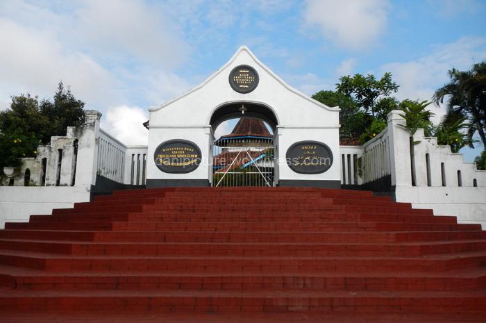 Gerbang Situs Jambansari - Komplek Makam R.A.A Kusumadiningrat