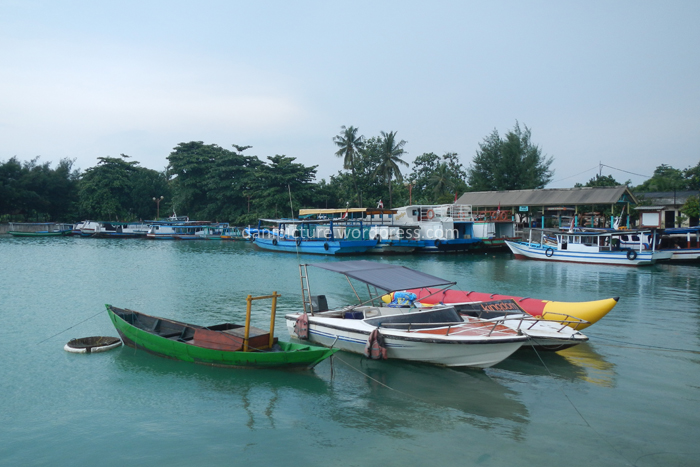 Pelabuhan/Dermaga Pulau Pari