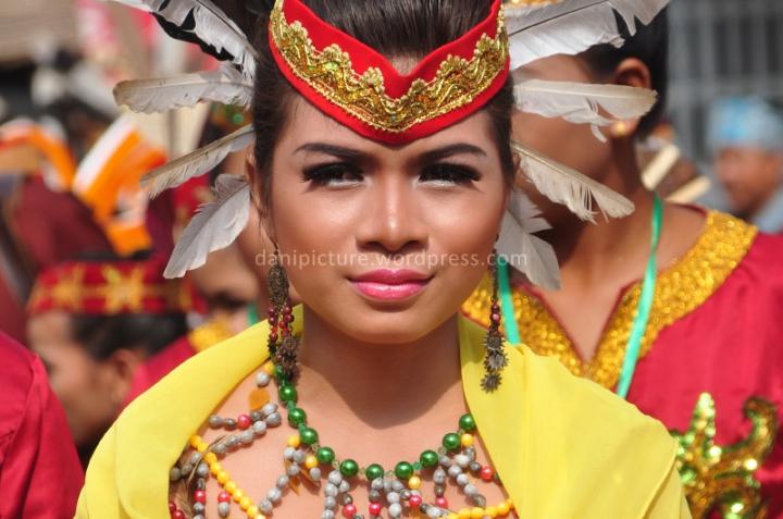 Perwakilan dari daerah Kalimantan lainnya, setiap daerah memiliki keunikan tersendiri