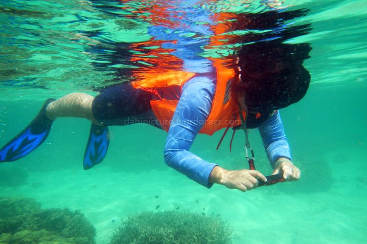 Secara garis besar, kawasan teluk Lampung seperti Pahawang, Kelagian dan Tanjung Putus airnya masih bersih dan banyak spot snorkling