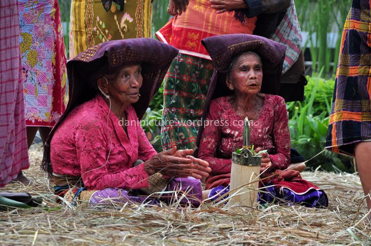 Salah satu kegiatan dalam ritual pangan Merdang Merdem dari Batak Karo