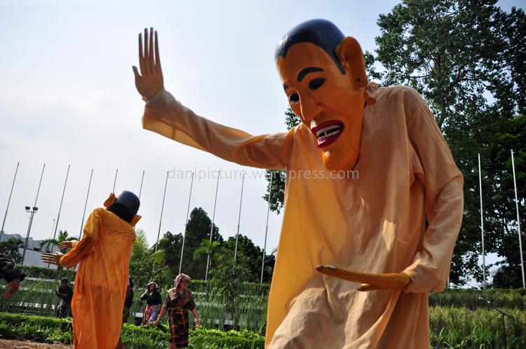 Sosok jahat pada Ritual Merdang Merdem Batak Karo